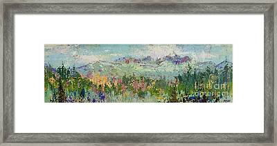 Highland Color Framed Print