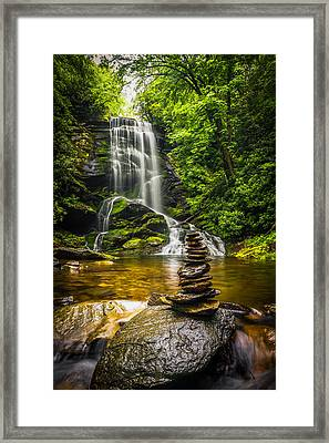 Upper Catabwa Falls Framed Print