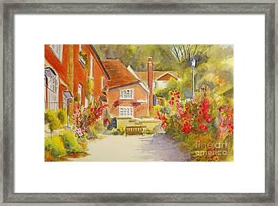 Upper Church Hill Hythe Framed Print