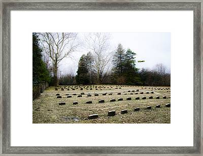 Upper Dublin Freinds Meetinghouse Burial Ground Framed Print by Bill Cannon