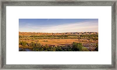 Upper Emmett Valley Framed Print by Robert Bales