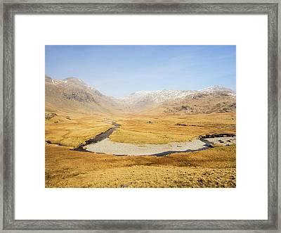 Upper Esk Valley Framed Print by Ashley Cooper