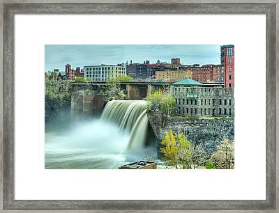 Upper Falls Framed Print