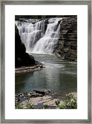 Upper Falls Letchworth State Park Framed Print