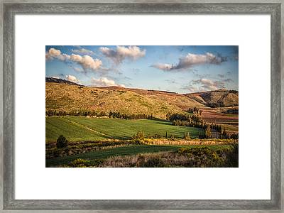 Upper Galilee Framed Print