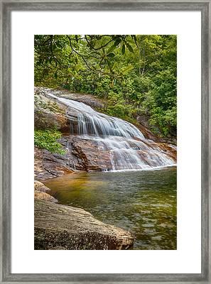 Upper Graveyard Falls Framed Print