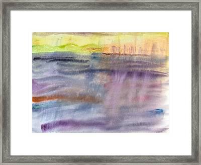 Upper Harbor Framed Print