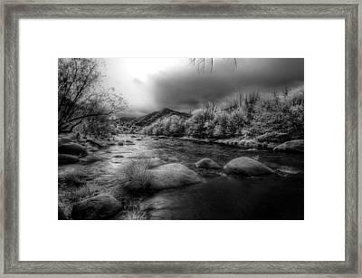 Upper Kern River Framed Print