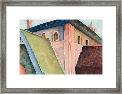 Upper Level Framed Print
