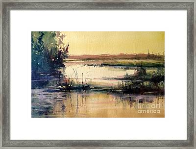 Upper Penninsula Marsh Framed Print by Sandra Strohschein