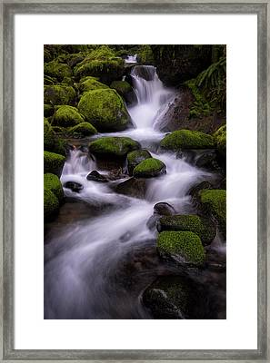 Upper Ruckel Creek Framed Print by Brian Bonham