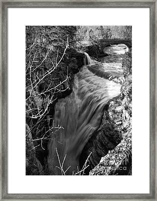 Upper Taughannock Framed Print