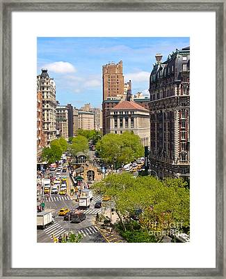 Upper West Side Framed Print by Beth Saffer