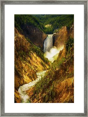 Upper Yellowstone Framed Print by Stuart Deacon