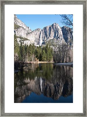 Upper Yosemite Fall Framed Print
