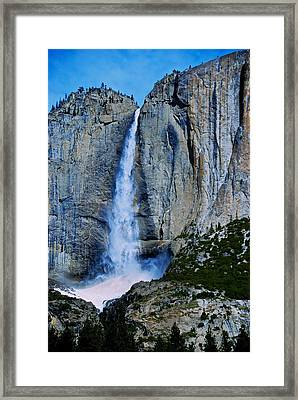 Upper Yosemite Falls Framed Print by Eric Tressler