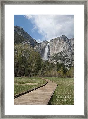 Upper Yosemite Falls Framed Print by Juli Scalzi