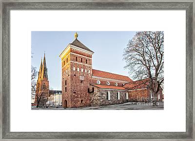 Uppsala Holy Trinity Church Framed Print by Sophie McAulay