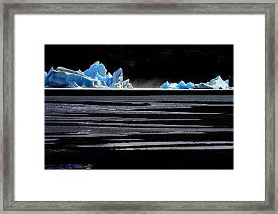 Upsala Glacier Framed Print by Arie Arik Chen
