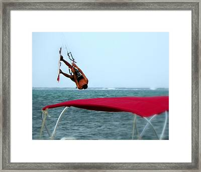 Upside Down World  Framed Print by Karen Wiles