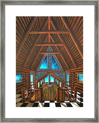 Upstairs Dream Framed Print