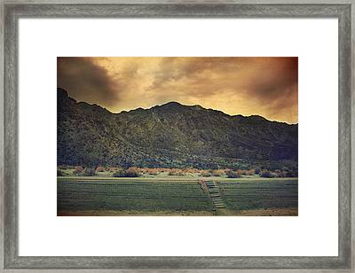Upstairs Framed Print by Laurie Search