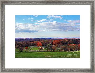 Upstate Framed Print by Alison Tomich