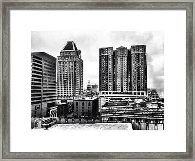 Uptown Baltimore Framed Print