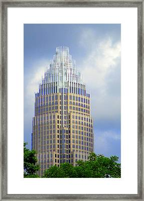 Uptown Charlotte 1 Framed Print by Randall Weidner