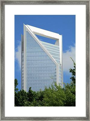 Uptown Charlotte 2 Framed Print by Randall Weidner