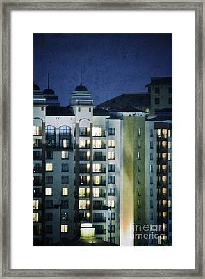 Uptown Framed Print by Darla Wood