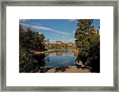 Uptown Framed Print by Douglas Adams