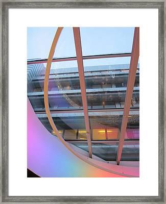 Upwards Prospect Framed Print by Rosita Larsson