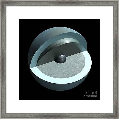 Uranus' Interior, Artwork Framed Print
