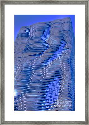 Urban Abstract 2 Framed Print by Jim Wright