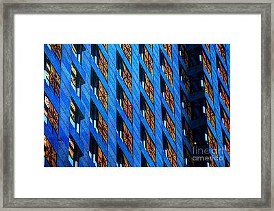 Urban Abstract 4 Framed Print by Jim Wright