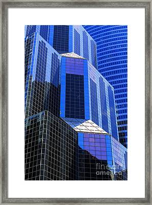 Urban Abstract 5 Framed Print by Jim Wright