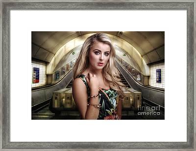 Urban Angel 2.0  Framed Print
