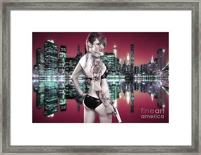 Urban Angel 7.0 Framed Print