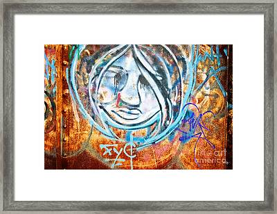 Urban Art Framed Print by Scott Pellegrin