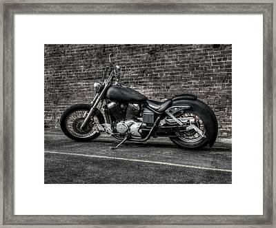 Urban Bike 001 Framed Print by Lance Vaughn