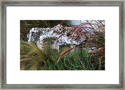 Urban Business Landscaping Framed Print by Linda Phelps