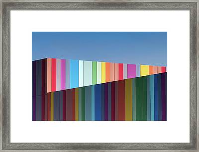 Urban Candy Framed Print
