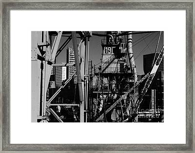 Framed Print featuring the photograph Urban Chaos by Maja Sokolowska