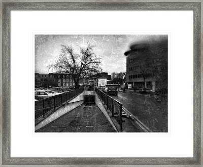 Framed Print featuring the digital art Urban City  by Fine Art By Andrew David