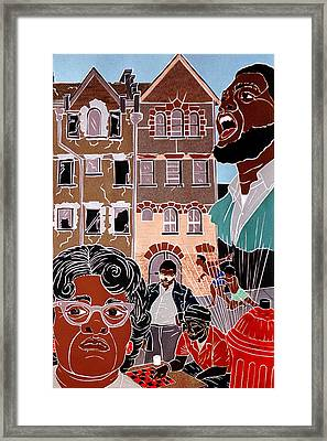 Urban Community Framed Print