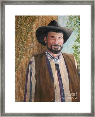 Urban Cowboy  Framed Print by Terri Maddin-Miller