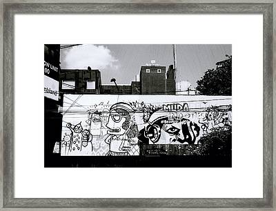 Surreal Urban Framed Print by Shaun Higson