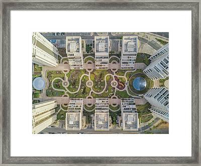 Urban Curves Framed Print
