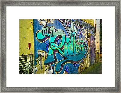 Urban Decay Framed Print by John Hoey